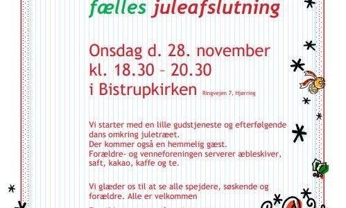 Invitation til Juleafslutning